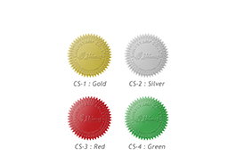 Embosser Seals Colours